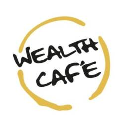 wealth cafe branding